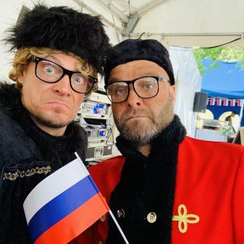 Walk Act als Russen auf russisch
