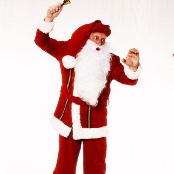 Günti als Weihnachtsmann