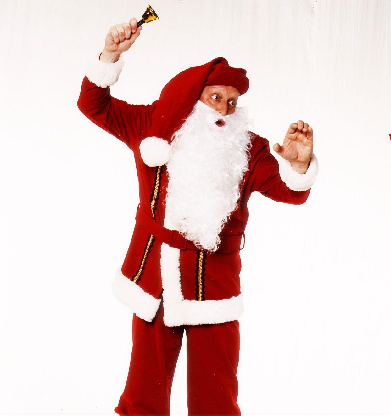 Günti der Sachse als Weihnachtsmann für Ihre Weihanchtsfeier buchen