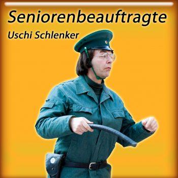 Komiker aus Thüringen als Uschi die Seniorenbeauftragte