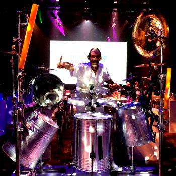 LED Drummingshow und Trommelshow