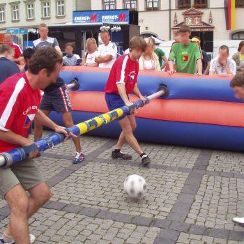 Menschlicher Kicker