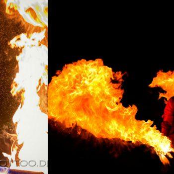 Feuershow aus Mainz