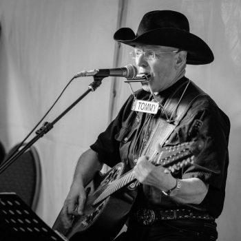 Country Sänger Live im Konzert