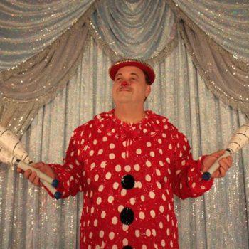 Clown Lulu im Zirkus
