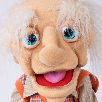Bauchredner Puppe aus Sachsen.