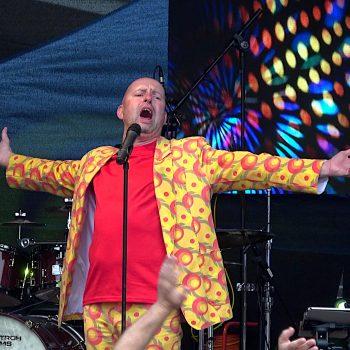 Der Stimmungsmacher live in Halle/Saale zum Stadtfest auf der Bühne