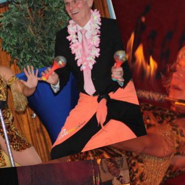Limbo-Show und Tanzshow