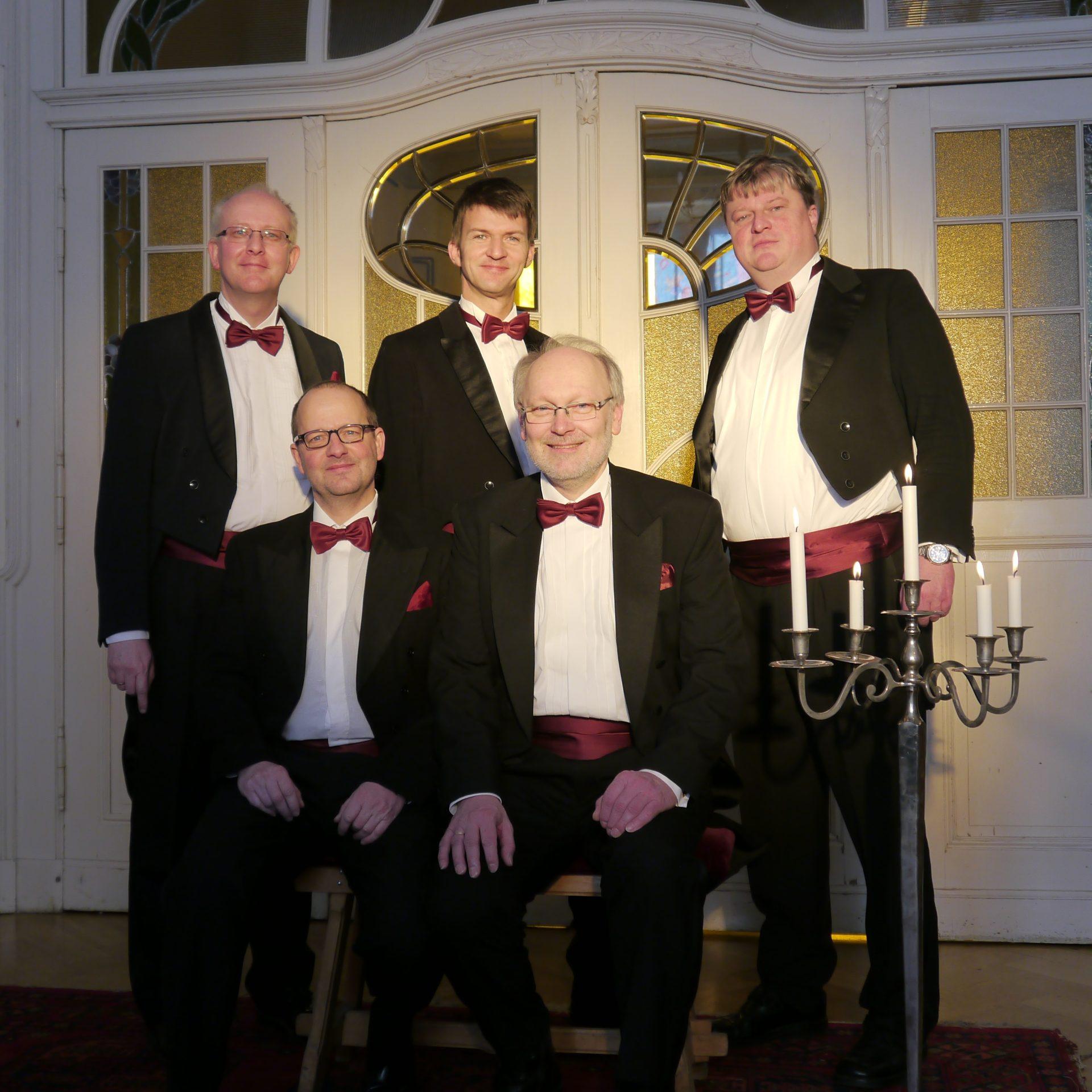 Männerchor Weihnachtslieder A Capella Gruppe hier direkt buchen