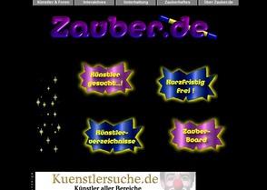 zauber.de Künstlerverzeichnis