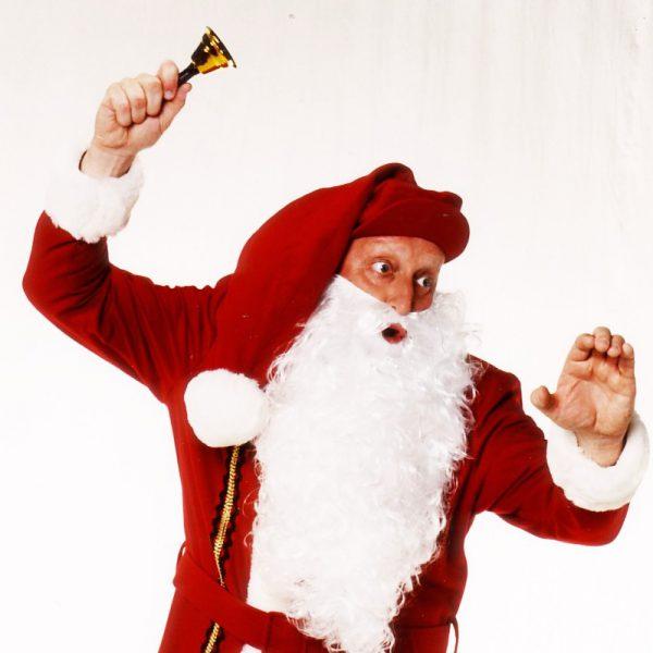 Günti der Sachse als Weihnachtsmann