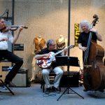 Jazzband auf dem Markt.