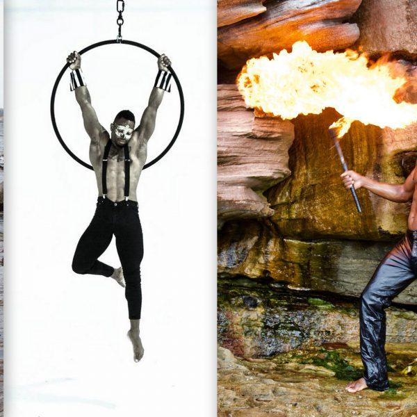 Zirkus Akrobatik buchen