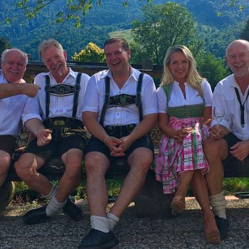 Echt bayerische Oktoberfestband