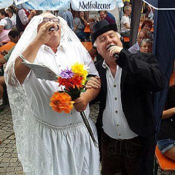 Eine bayrische Band mit Sepp