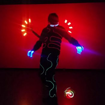 LED-Show aus Leipzig