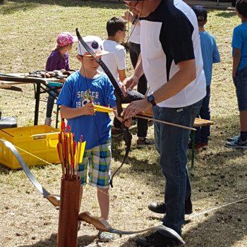 Bogenschießen für Kinder und Erwachsene