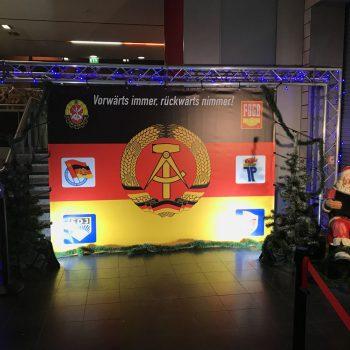 DDR-Dinner-Show die Kulisse