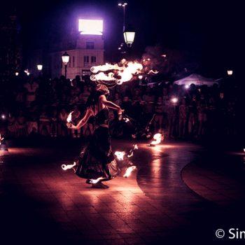die Feuershow