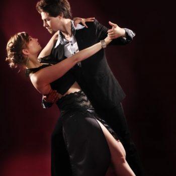 Tango Tanzpaar voller Emotion