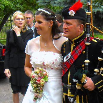 Wedding Piper für Sachsen