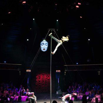 Zirkus Artisten in Monte Carlo
