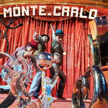Zirkus Akrobaten zum Zirkusfestival in Monte Carlo