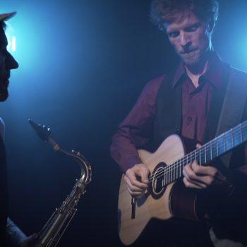 Jazz Duo mit Gitarre und Saxophon