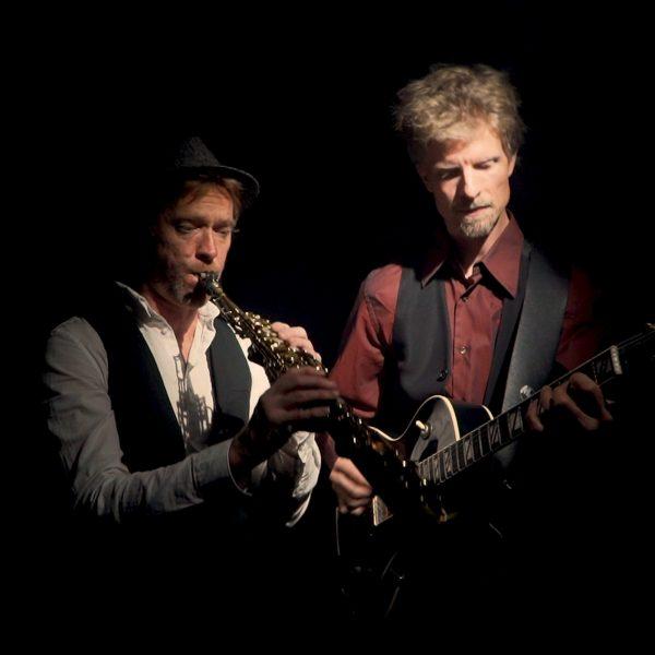 Collage von Jazz Duo aus Berlin