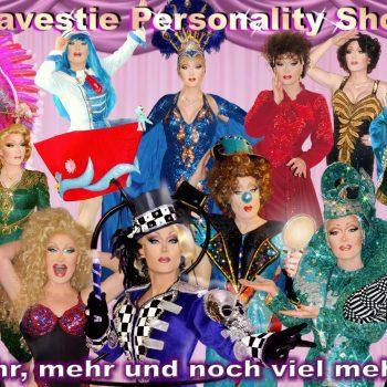 Travestieshow mit verschiedenen Künstlern