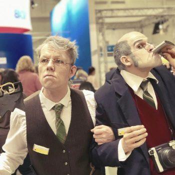 2 Rentner als Comedy Fotografen