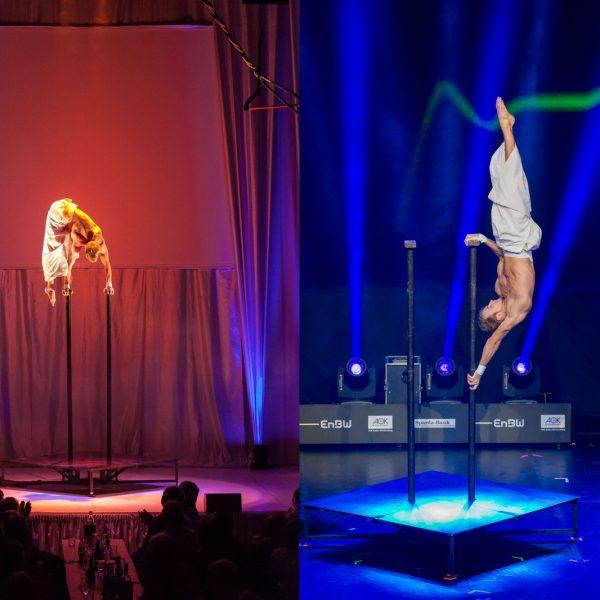 akrobatik show aus Berlin