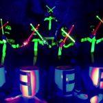 Drumshow mit LED Trommelstöcken