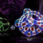 Lichtshow-Verschiedene Elemente