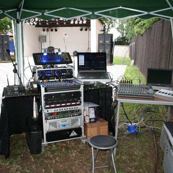 DJ zum Gartenfest