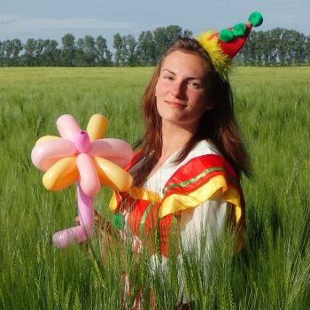 Ballonmodellieren Blumen