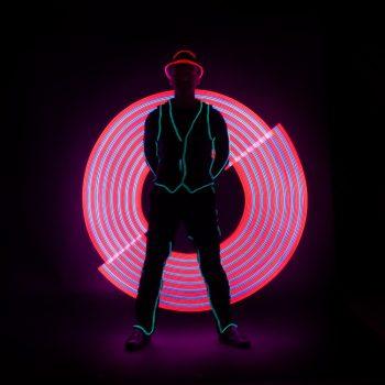 LED-Leuchtshow